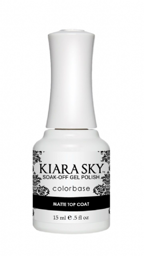 KIARA SKY GEL POLISH 15ML - MATTE TOP COAT